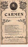 PARTITION N°60 : CARMEN / COMPOSITEUR  BIZET / L AMOUR EST UN  OISEAU REBELLE - Opern