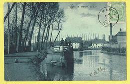 * Menen - Menin * (SBP, Nr 14) La Lys, De Leie, Timbre, Canal, Quai, Bateau, Boat, Péniche, Industrie, TOP, Unique, Rare - Menen
