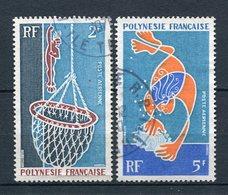 Französisch Polynesien Nr.115 + 116          O  Used        (028) - Französisch-Polynesien