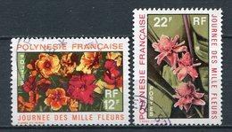 Französisch Polynesien Nr.134 + 135         O  Used         (030) - Französisch-Polynesien