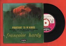 FRANÇOISE HARDY - POURTANT TU M'AIMES / JALOUX / ON SE QUITTE TOUJOURS / C'EST LA PREMIÈRE FOIS - 1964 - Vinyles