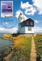 D35860 CARTE MAXIMUM CARD 2014 NETHERLANDS - MARKEN PHARE VUURTOREN LIGHTHOUSE CP ORIGINAL - Phares