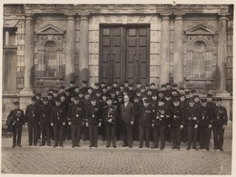 Grande Photo Reims Mai 1935 Au Concours De Musique Militaire Officiers Par Doucet Photgraphie Industrielle - Guerre, Militaire