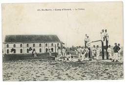 CPA 18 CAMP D'AVORD LE THEATRE - Avord