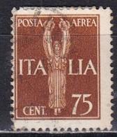 Regno D'Italia, 1930 - 75c Posta Aerea - Nr.A14 Usato° - 1900-44 Victor Emmanuel III.