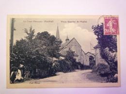 FLAYAT  (Creuse)  :  Vieux Quartier De L'Eglise   1934   XXX - Autres Communes