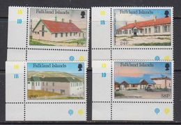 Falkland Islands 1987 Local Hospitals 4v (corners) ** Mnh (41727A) - Falklandeilanden