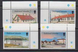 Falkland Islands 1987 Local Hospitals 4v (corners) ** Mnh (41727B) - Falklandeilanden
