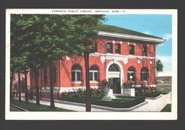 Meridian - Carnegie Public Library - Linen - Meridian