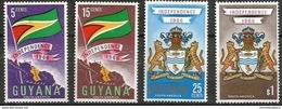 Guyana - 1966 Independence MNH **   Sc 20-3 - Guyana (1966-...)