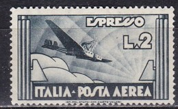 Regno D'Italia, 1934 - 2 Lire Espresso Aereo - Nr.A73 MLH* - 1900-44 Victor Emmanuel III.