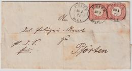 Nr. 3 Paar,schöner Brief ! Mi. 180.- , #a1823 - Deutschland