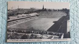 Birmingham Aston Villa Park Stadium  Cartolina Stadio Postcard Stadion AK Carte Postale Stade Estadio - Football