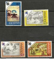Guyana  - 1979 Year Of The Child Set Of 4  MNH **   Sc 302-5 - Guyane (1966-...)