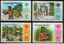 Samoa  - 1979 Year Of The Child Set Of 4  MNH **   Sc 499-502 - Samoa