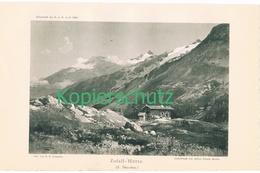 107 E.T.Compton Zufallhütte Rif.Nino Corsi Lichtdruck 1894 !! - Drucke