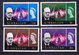 Falkland Islands 1966 Sir Winston Churchill 4v ** Mnh (41730) - Falklandeilanden