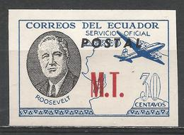 Ecuador 1949. #H (M) Roosevelt, M.T. * - Equateur