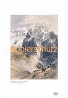113 E.T.Compton Marmolata Col Di Cuc Farbdruck 1907 !!! - Prints