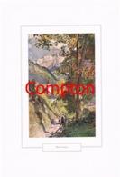 117 E.H.Compton Ramsau Kirche Leute Berchtesgaden Farbdruck Ca. 1921 !!! - Drucke