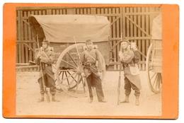 Photo Poilus  46 ème Régiment Voiture Subsistance Desvignes Clamecy - 1914-18
