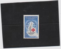 NOUVELLE CALEDONIE 1 T Neuf Xx  N°YT 312 - 1963 - Centenaire De La Croix-Rouge - Neufs