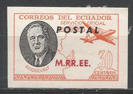 Ecuador 1949. #I (M) Roosevelt, M.RR.EE. * - Equateur