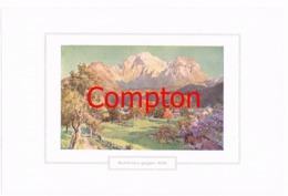 119 E.T.Compton Schönau Göll Berchtesgaden Farbdruck Ca. 1921 !!! - Prints