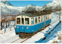 AK Eisenbahn Italien Trontano Centovalli-Bahn Locarno-Domodossola SSIF/FART 1974 Motrice ABFe Carminati E Toselli/BBC - Eisenbahnen