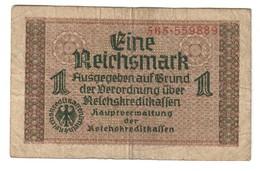 German Occupation Of Europe 1 Reichsmark 1944 - [ 9] Territori Tedeschi Occupati