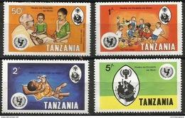 Tanzania  - 1979 Year Of The Child Set Of 4   MNH **   Sc 123-6 - Tanzania (1964-...)