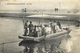 Dpts Div.-ref-AF829- Herault - Palavas Les Flots - Le Bac - Bacs - Passeur - Passeurs - Metiers - Carte Bon Etat - - Palavas Les Flots