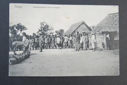 Cpa/pk Congo Rassemblement Pour Le Travail - Congo Belge - Autres