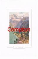 130 E.T.Compton Königssee Berchtesgaden Farbdruck Ca. 1921 !!! - Drucke