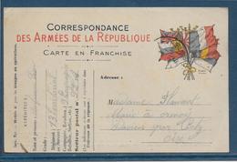 France - Carte De Franchise Militaire - Marcophilie (Lettres)