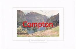 133 E.T.Compton Königssee Christlieger Berchtesgaden Farbdruck Ca. 1921 !!! - Decretos & Leyes