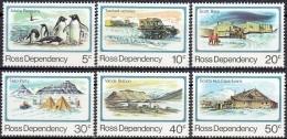 Ross Depency 1982 Michel 15 - 20 Neuf ** Cote (2005) 2.40 Euro Vivre En Antarctique - Neufs