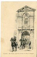 500. CPA ILLUSTRATEUR. VERSAILLES QUARTIER DE CROY. 27è REGIMENT DE DRAGONS - Regimenten