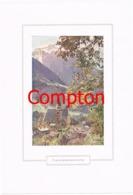 136 E.H.Compton Franziskanerkirche Berchtesgaden Farbdruck Ca. 1921 !!! - Drucke
