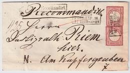 1873, GA Als Orts-Brief , #a1831 - Deutschland