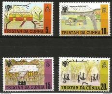 Tristan Da Cunha - 1979 Year Of The Child Set Of 4 MNH **  Sc 264-7 - Tristan Da Cunha