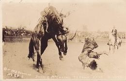 CPA - RODEO - Bonnie McCarroll - Orégon - Carte Photo - 1915 - Non Classés