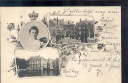 Den Haag - Koningin Wilhelmina - Stempel 1897!! Stempelmuenchen B.u. 7 Dec 97! - Den Haag ('s-Gravenhage)