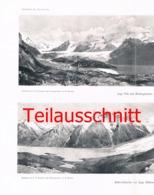 140 E.T.Compton Stokes Gletscher Anden Panorama Druck 1904 - Drucke