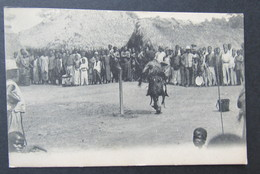 Cpa/pk Congo Danse Typique - Congo Belge - Autres