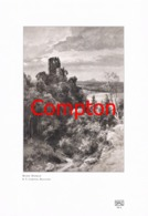 146 E.T.Compton Ruine Altbodman Wanderer Druck 1907 !!! - Drucke