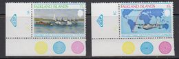 "Falkland Islands 1978 Anniversary 1st Direct Flight 2v  (corners ""WSP) ** Mnh (41734B) - Falklandeilanden"