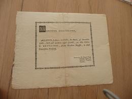 Diplôme En Latin D.Devillers Arts Libres 4/11/1766 Paris Manuscrit Médecine Au Dos Restauré - Diplômes & Bulletins Scolaires