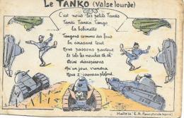MILITARIA HUMOUR LE TANKO - Humoristiques