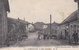 FRESNOIS  - MEUSE - (55)  -  RARE CPA ANIMÉE. - Sonstige Gemeinden